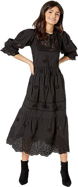 Lavander Midi Dress