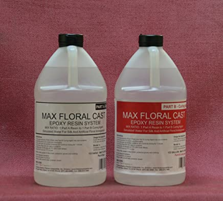 ACRYLIC WATER EPOXY 4 WATER CLEAR FLORAL ARRANGING /& WATER SIMULATION BULK 1gal*