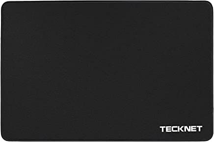 TeckNet L G101 Mouse Mat gaming, 320 x 250 x 3 mm, Non-Slip Rubber Base, Compatible with Laser and Optical Mice