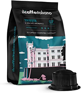 FRHOME - Caffitaly 100 Càpsulas compatibles - Il Caffè