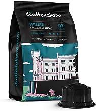 FRHOME - Caffitaly 100 Càpsulas compatibles - Il Caffè Italiano - Mezcla Trieste Intensidad 7