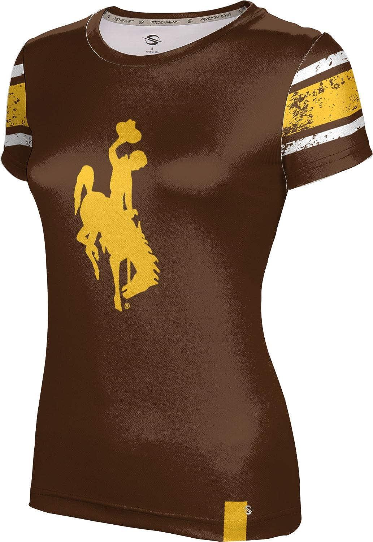 ProSphere University of Wyoming Girls' Performance T-Shirt (End Zone)