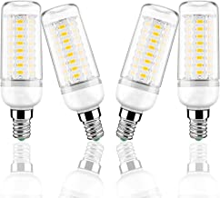 E14 LED Corn Bulbs 12W Equivalent to 100W Halogen Bulbs Warm White Candle Bulb 3000K Edison Screw LED Light Bulbs No Dimma...
