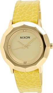 Nixon Women's 'Bobbi' Quartz Stainless Steel Casual Watch, Color:Gold-Toned (Model: A341-501-00)