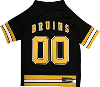 NHL BOSTON BRUINS JERSEY for DOGS & CATS, X-Small. - Let your Pet be a real NHL FAN!
