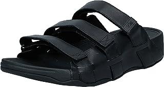 FITFLOP Ethan Slides, Men's Fashion Sandals, Black (All Black)