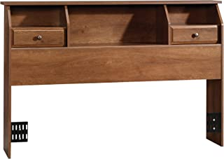 Sauder Shoal Creek Bookcase Headboard, Full/Queen, Oiled Oak finish