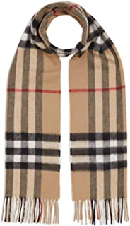 Luxury Fashion | Burberry Womens 8018173 Beige Scarf | Fall Winter 19