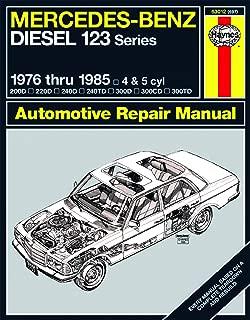Mercedes Benz Diesel Automotive Repair Manual: 123 Series, 1976 thru 1985 (Haynes Repair Manual)