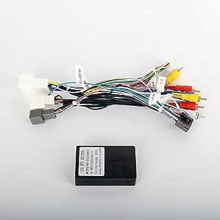 Dasaita CB003 Câble Adaptateur Plug & Play Faisceau Autoradio pour Mitsubishi Lancer ASX 2014 à 2017 avec Système Amplific...