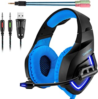 ONIKUMA Auriculares Gaming Stereo K1. Auriculares de Diadema con microfono para Xbox 360/Xbox