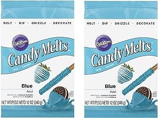 Wilton 16911-1352 Blue Candy Melts, 12-Ounce(2pk)