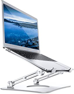 AHK laptop stativ – justerbart bärbart notebookstativ för MacBook Pro/Air, HP, Dell, Lenovo, Samsung, Acer, Huawei MateBoo...