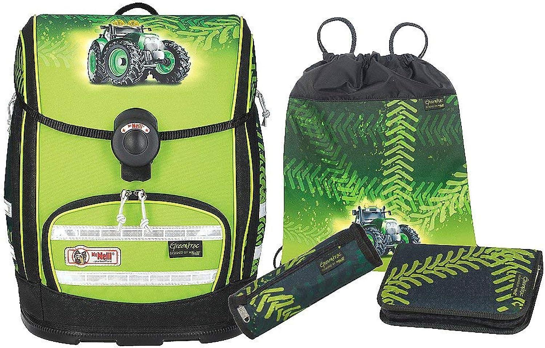 McNeill Schultaschen Sets Ergo Explorer 4-TLG. Grüntrac