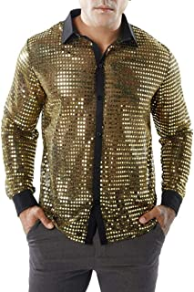 TEBAISE Fashion Men's Autumn Casual Shirts Long Sleeve Shirt Hollow Shirt Top Blouse