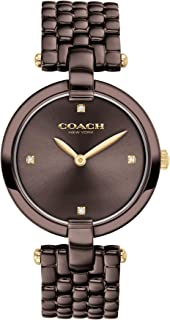 Coach Women'S Chocolate Dial Ionic Plated Brown Steel Watch - 14503531