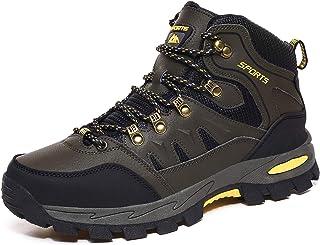 DimaiGlobal Chaussures de Randonnée Antidérapantes Trekking Promenades Montantes Imperméable Sports Sneakers pour Homme Femme