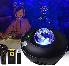 Serra Led-sterrenhemel projectorlamp - Galaxy Light voor kinderen en volwassenen kamerdecoratie - Galaxy projector met afs...