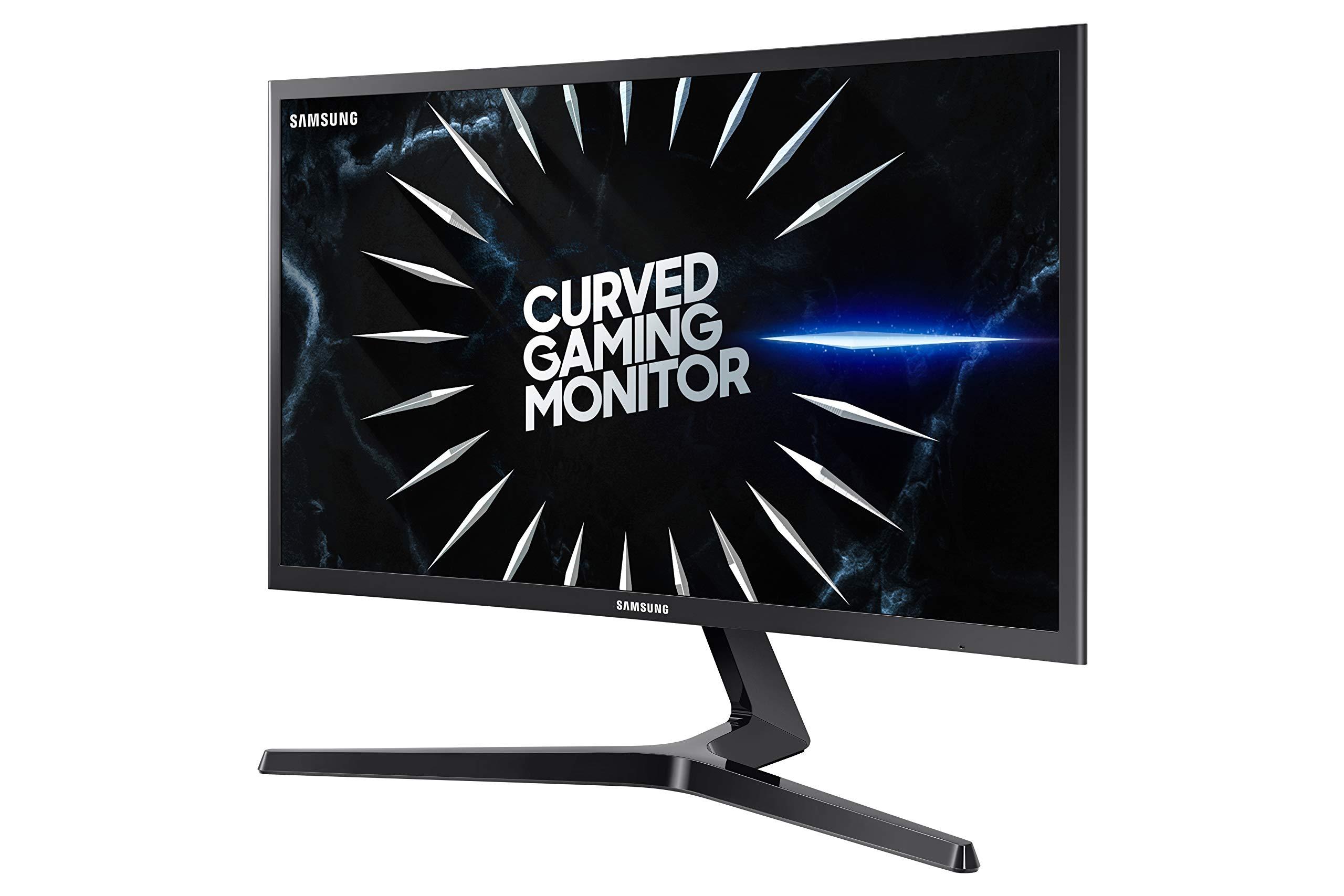 Samsung Monitor de Videojuegos Curvo de 24 Pulgadas CRG5 144Hz (LC24RG50FQNXZA) – Monitor de computadora, resolución de 1920 x 1080p, Respuesta de 4 ms, FreeSync, Modo de Juego, HDMI: Amazon.es: Electrónica