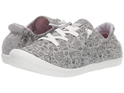 BOBS from SKECHERS Beach Bingo Love Pups (Gray) Women
