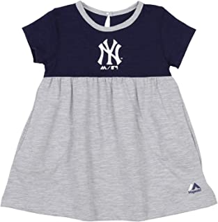 OuterStuff MLB Baby Girls Infant 7th Inning Twirl Dress - Team Options