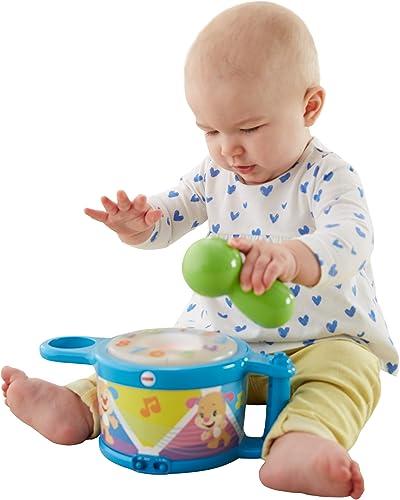 Garantía 100% de ajuste Fisher-Price Laugh Laugh Laugh & Learn Tap & Teach Drum by Fisher-Price  oferta especial