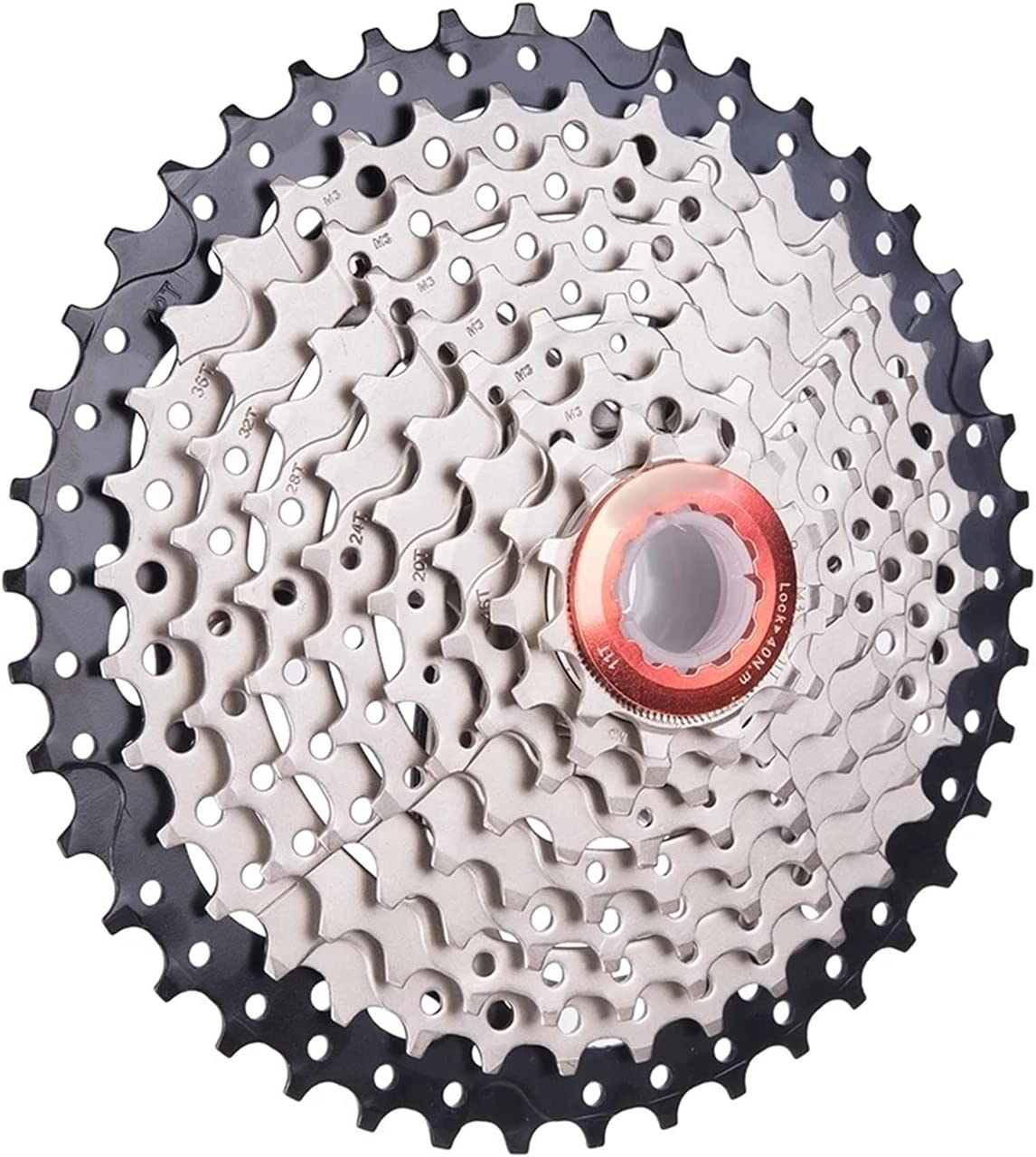 XCSM Free shipping on posting reviews MTB Bike 9 Speed 11-42T Cassette 42T Limited price Wide Steel Fr Ratio 9S