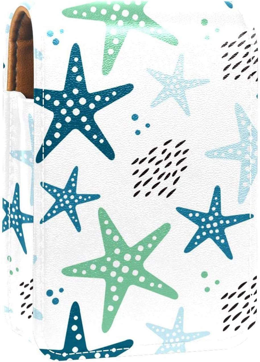 Makeup Lipstick Case 2021 model For Outside Lip Starfish Ocean Portable Sea sold out