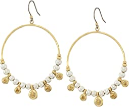 Lucky Brand - Pave Hoop Earrings