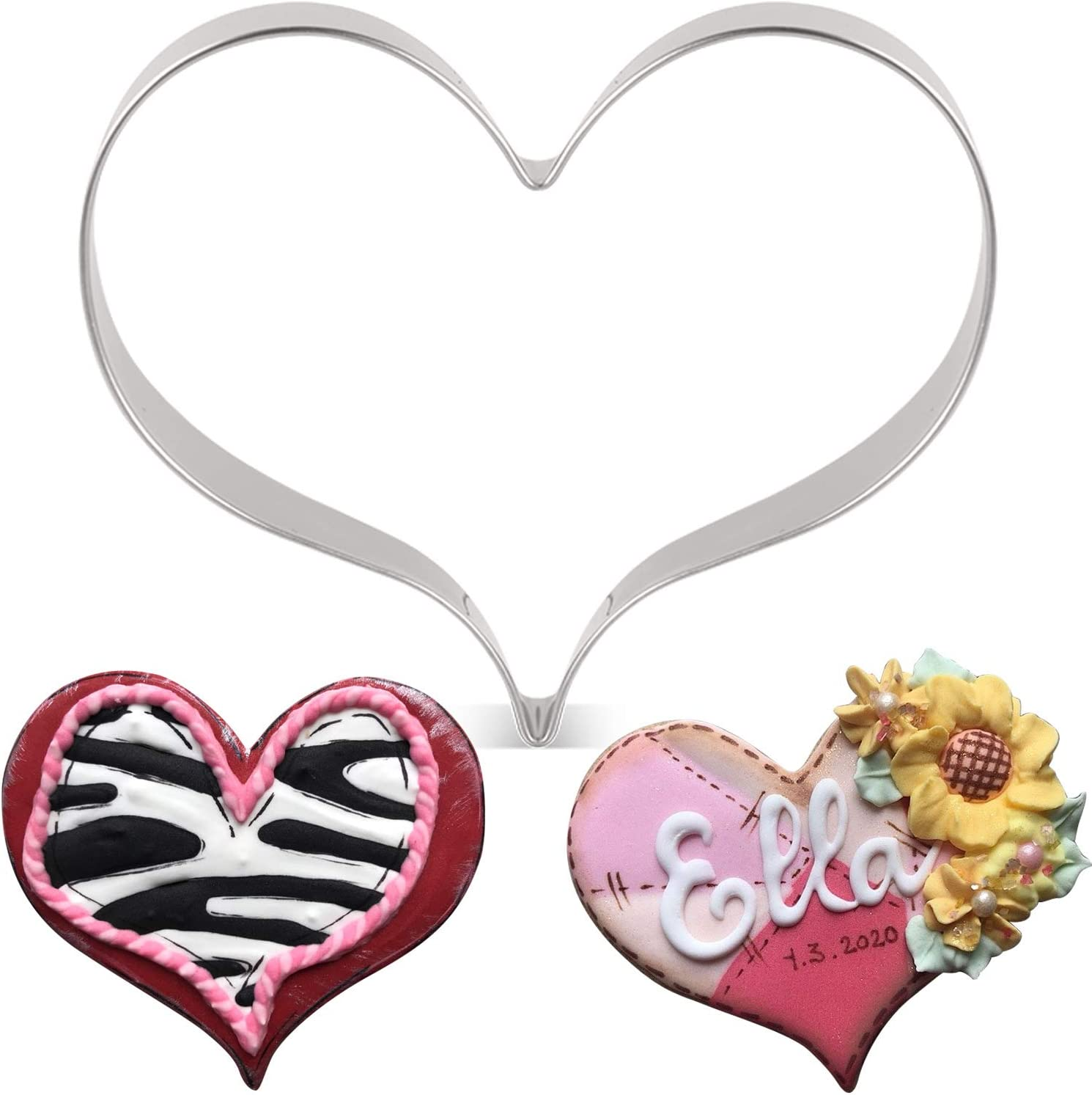 LILIAO Heart Cookie Cutter for Mother's Baby Shower Max 86% OFF Max 54% OFF Wedding Day