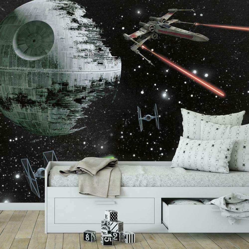 Roommates Star Wars Classic Vehicles Removable Wall Mural 10 5 Feet X 6 Feet Multicolor Amazon Com