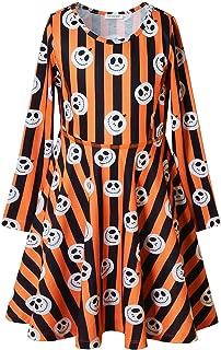 Best halloween pumpkin print dress Reviews