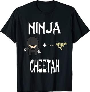 Ninja CHEETAH T-Shirt CHEETAH Ninja Shirt