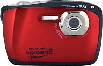 Bell+Howell Splash II WP16-R 16MP Waterproof Digital Camera with 2.5-Inch LCD Screen (Red)