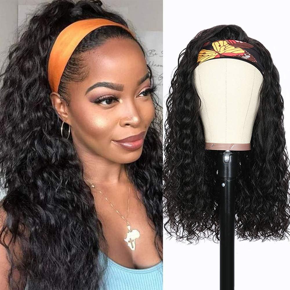 peluca Pelo natural rizado humano para mujer