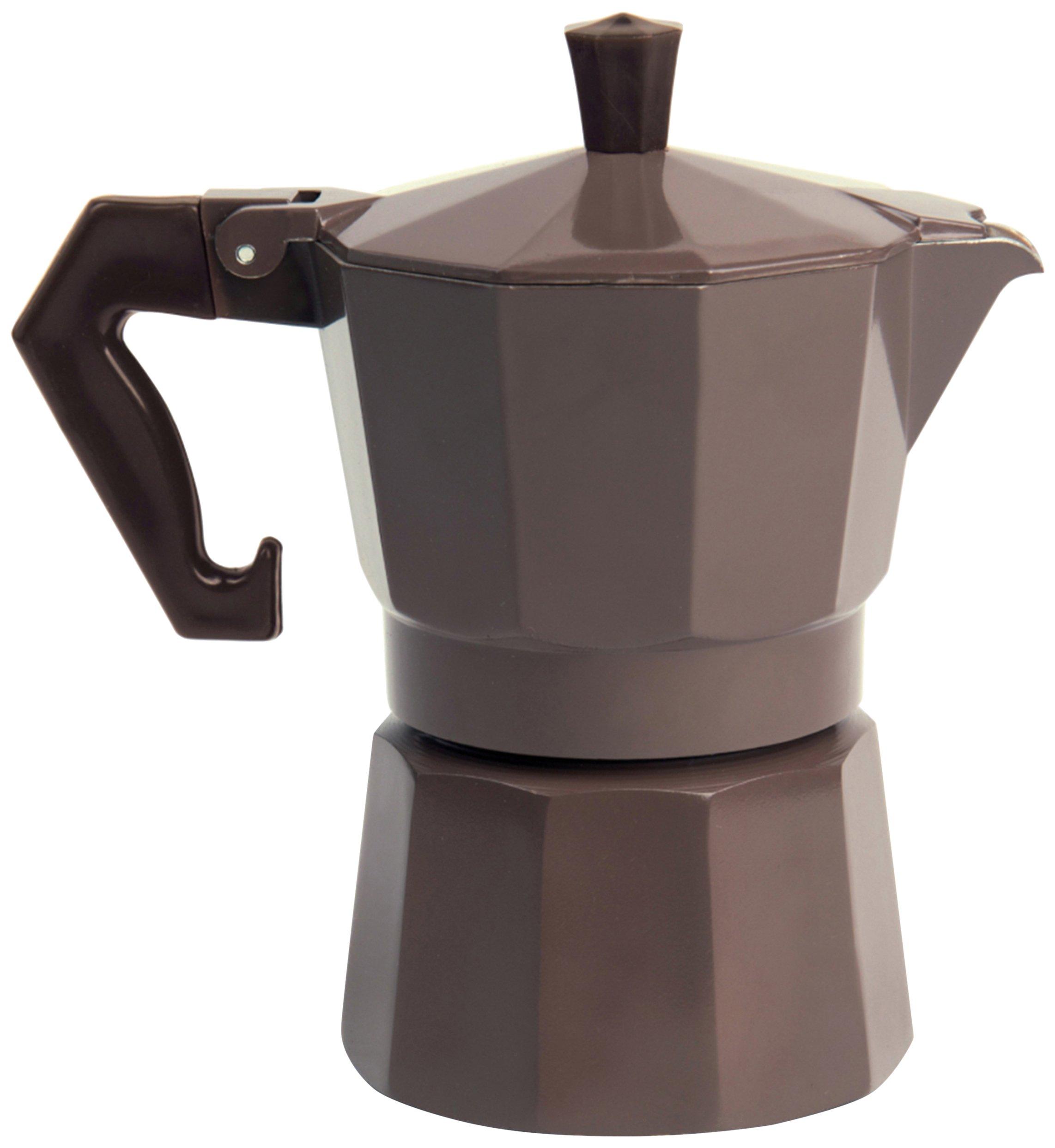 Excelsa Chicco Color cafetera Tazas, Aluminio, Color Gris: Amazon.es: Hogar