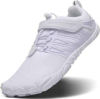 EVGLOW Men's Wide Minimalist Trail Running Shoes | Barefoot Cross Training Shoe for Gym Wokout(Size:7-12)