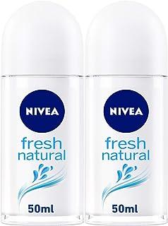 Sponsored Ad – NIVEA Fresh Natural, Deodorant for Women, 2 x 50 ml, 82809
