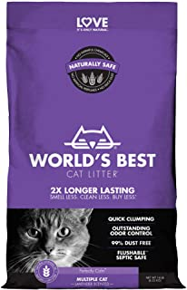 World's Best Cat Litter 6.35kg Multi Cat Lavender Scented