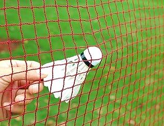 Angker Filet de badminton (en nylon tressé rouge) pour l&#