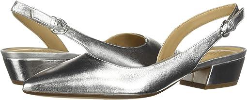 Silver Metallic Synthetic