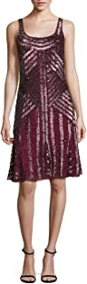 Sequin Scoopback Cocktail Evening Dress