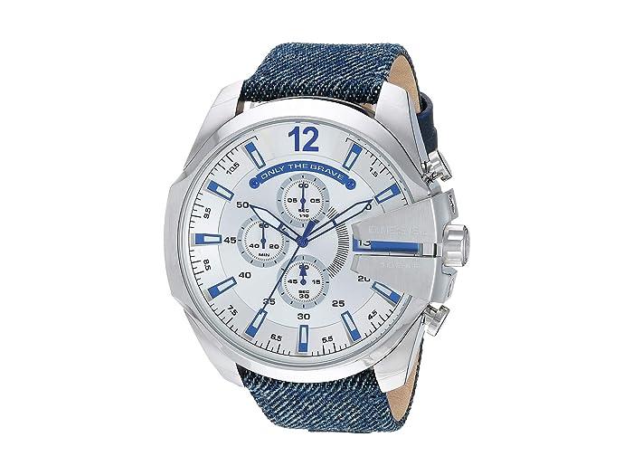 Diesel  Mega Chief - DZ4511 (Blue) Watches