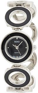 ساعة اكس او اكس او كوارتز للنساء شاشة انالوج بعقارب و سوار ستانلس ستيل - XO5213