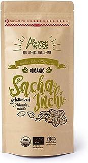 Amazon Andes - Sacha Inchi Powder - Vegan Protein - 7 Ounce (20 Servings) - Certified USDA Organic - Non GMO - 100% Natura...