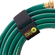 """Super-Stretch Wrap-It Storage Straps, 18"""" (6 Pack) - Elastic Hook and Loop Cinch Straps - Extension Cord Organizer, Hose a..."""