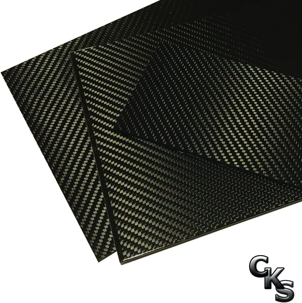 1 Carbon Fiber Plate - 100mm x To -3K Low Max 56% OFF price 250mm Thick 100% 2mm