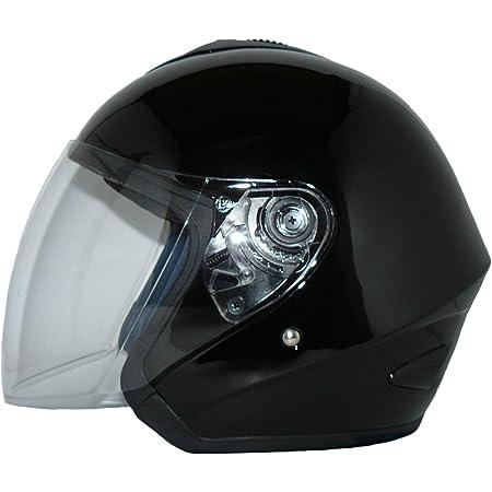 Protectwear Jethelm V510 Motorradhelm Mit Visier Schwarz Glanz Xl Auto