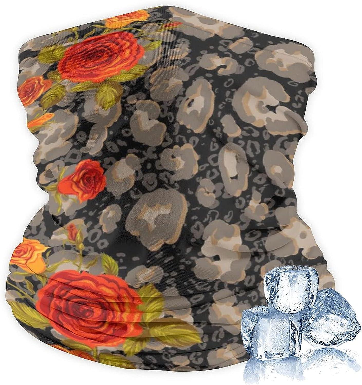 Women Men Face Mask Reusable Washable Cloth Bandanas Ice Silk Neck Gaiter Cover