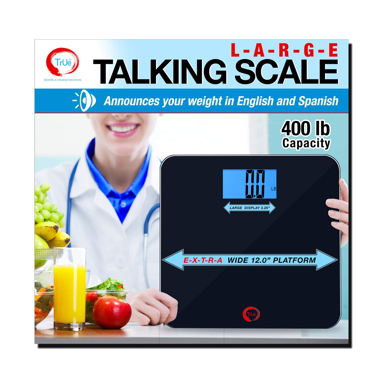 True 42 ECHO-400 Max 55% OFF Large Talking Capacity- Scale 400lb Bathroom E Sale item